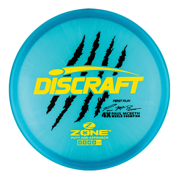 Discraft Paul McBeth Z Line Zone (First Run) (pre-order)