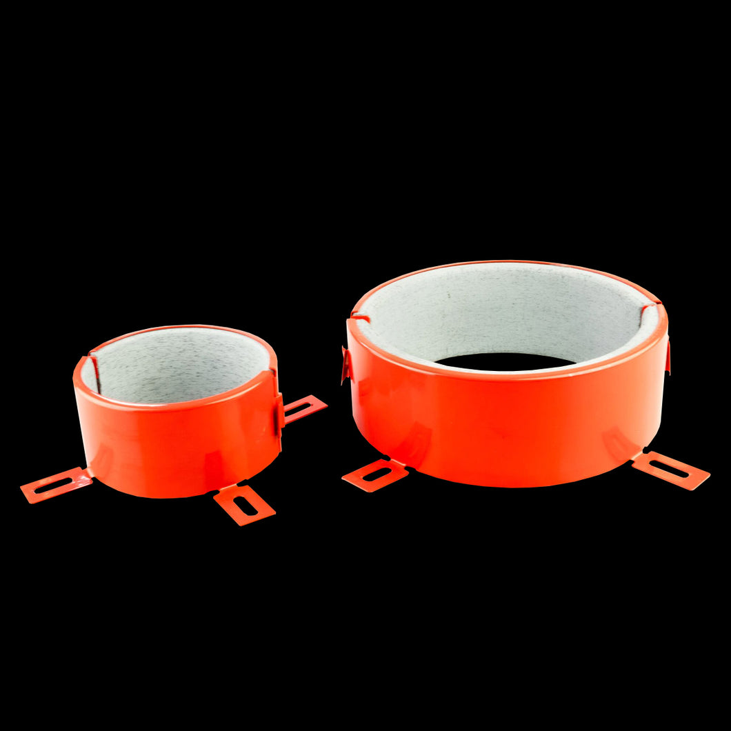 Box-iPASSIVE FR Collar Ø125mm/60mm-Red-20 Units