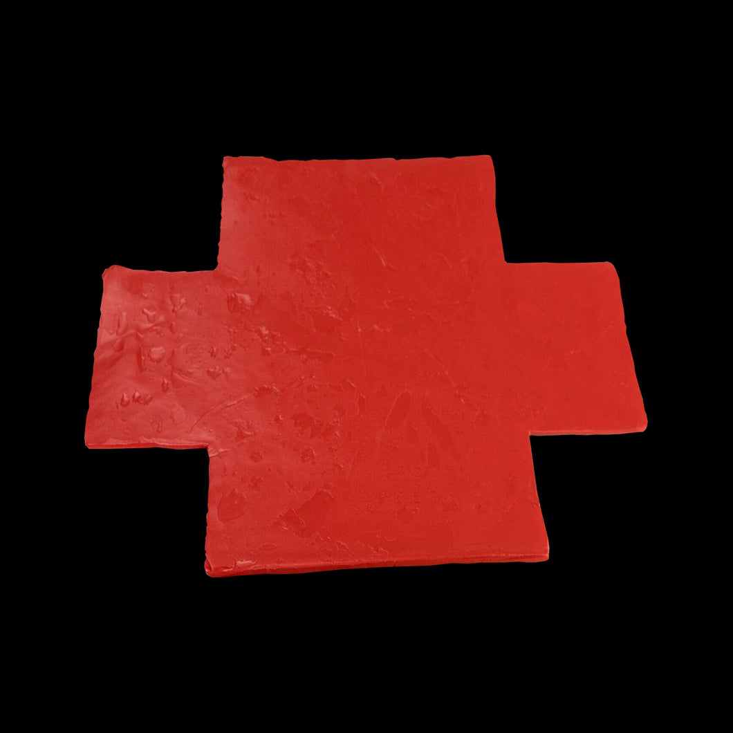 Box-iPASSIVE Putty Pad-Cross Double-230mm x 170mm-Warm Red-20 Units
