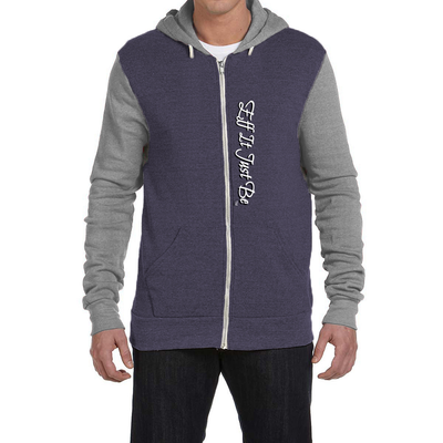 The Eco-Fleece Colorblock Zip Front Hoodie