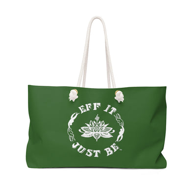 The Fabulous Weekender Bag in Gorgeous Green
