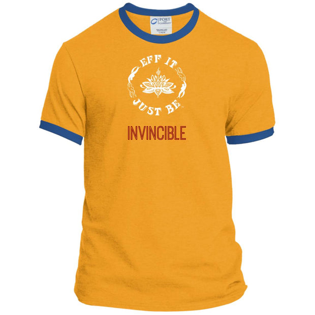 Eff It Just Be - INVINCIBLE - Identity Collection - Ringer Tee