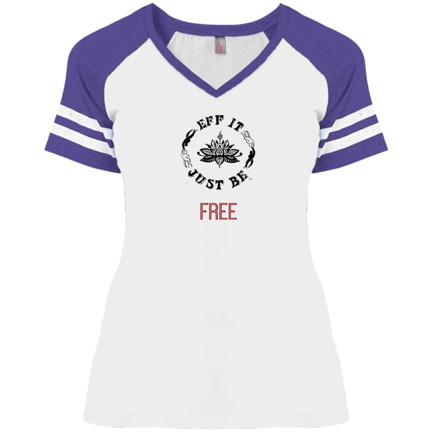Eff It Just Be - FREE - Identity Collection - V-Neck Game T-Shirt