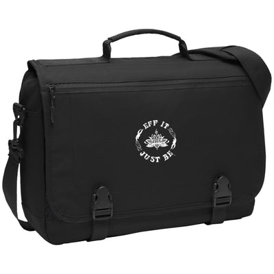 The Eff It Just Be Port Authority Messenger Briefcase