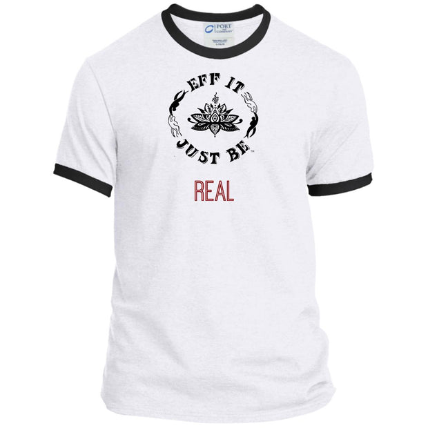 Identity Collection REAL by Eff It Just Be Ringer Tee