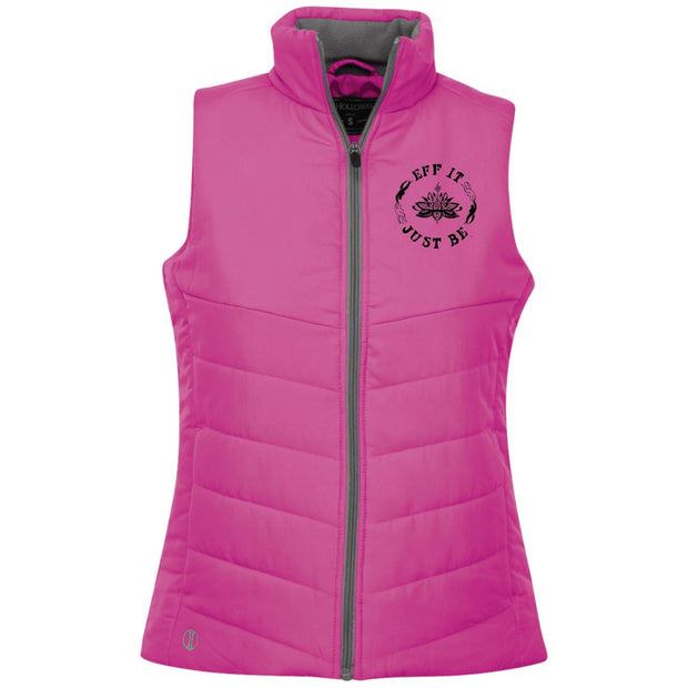The Eff It Just Be Ladies' Quilted Vest