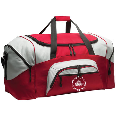The Eff It Just Be Colorblock Sport Duffel