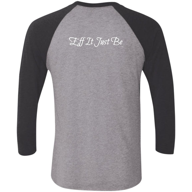 Identity Collection YOU by Eff It Just Be 3/4 Sleeve Raglan T-Shirt