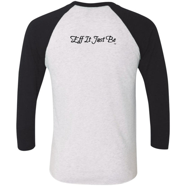 Identity Collection STRONG by Eff It Just Be  3/4 Sleeve Raglan T-Shirt