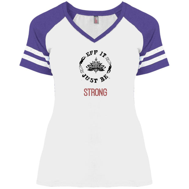 Eff It Just Be - STRONG - Identity Collection - V-Neck Game T-Shirt