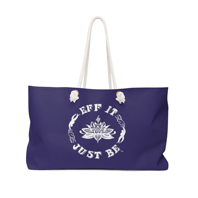 The Fabulous Weekender Bag in Nautical Navy