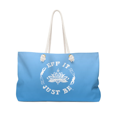 The Fabulous Weekender Bag in Ombre Blue