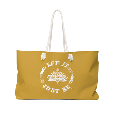 The Fabulous Weekender Bag in Marvelous Mustard!