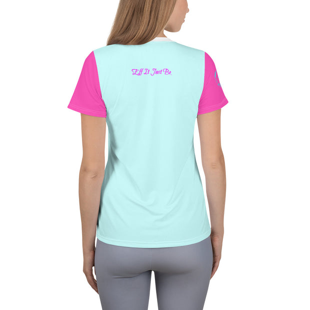 Eff It Just Be - Regatta Collection - Athletic Slant Super Tee