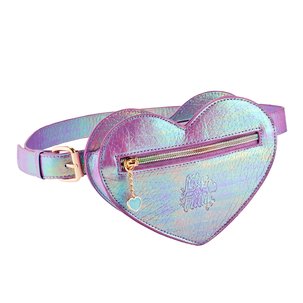 Lily Frilly Heart Waist Bag