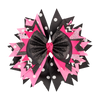 Pink/Black Bow