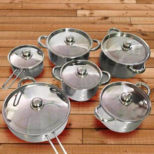 12 PIECES Cookware Set [FREE SHIPPING + 60% OFF]