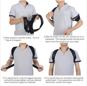 (BUY 1 TAKE 1) Adjustable Posture Corrector & Back Support Brace
