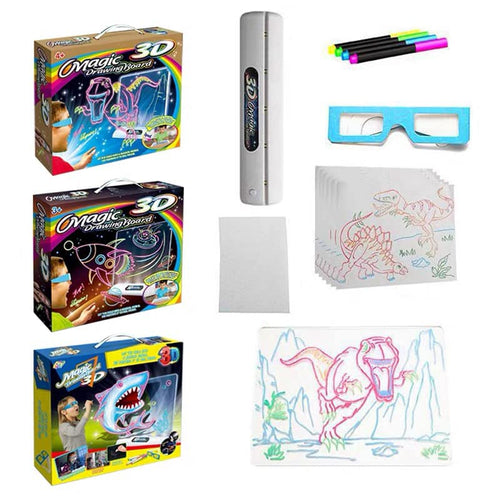 GlowBoard™ 3D Effect Magic Drawing Board
