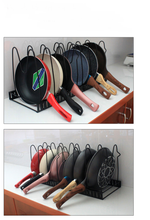 Load image into Gallery viewer, 5-Layer Freestanding Pot Rack