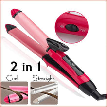 Load image into Gallery viewer, NOVA Essential 2 in 1 Hair Straightener and Curler