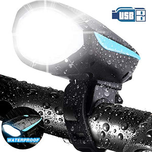 Waterproof Cycling Light with Horn