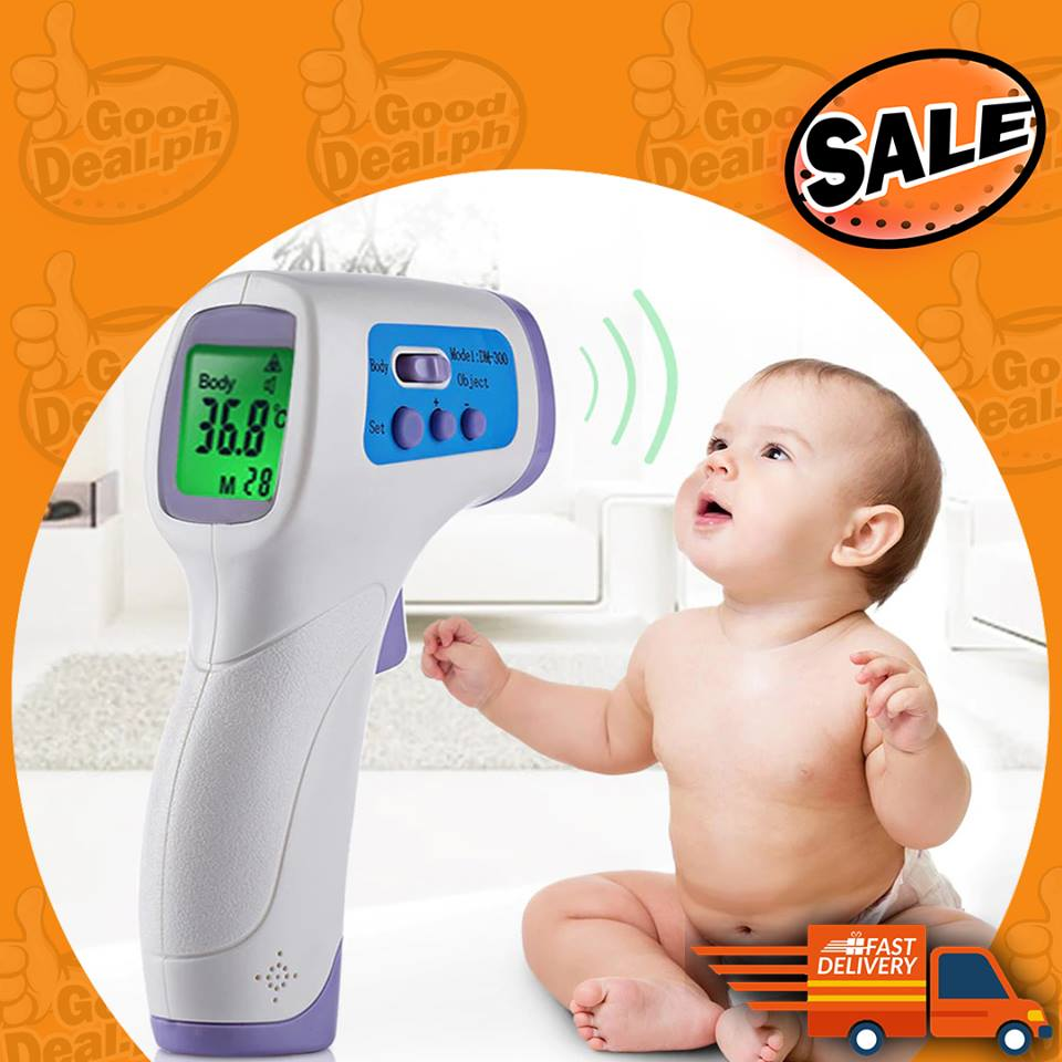 Digital Handheld Infrared Baby & Adult + Measuring Surface Thermometer