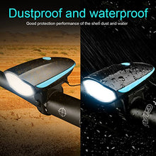 Load image into Gallery viewer, Waterproof Cycling Light with Horn
