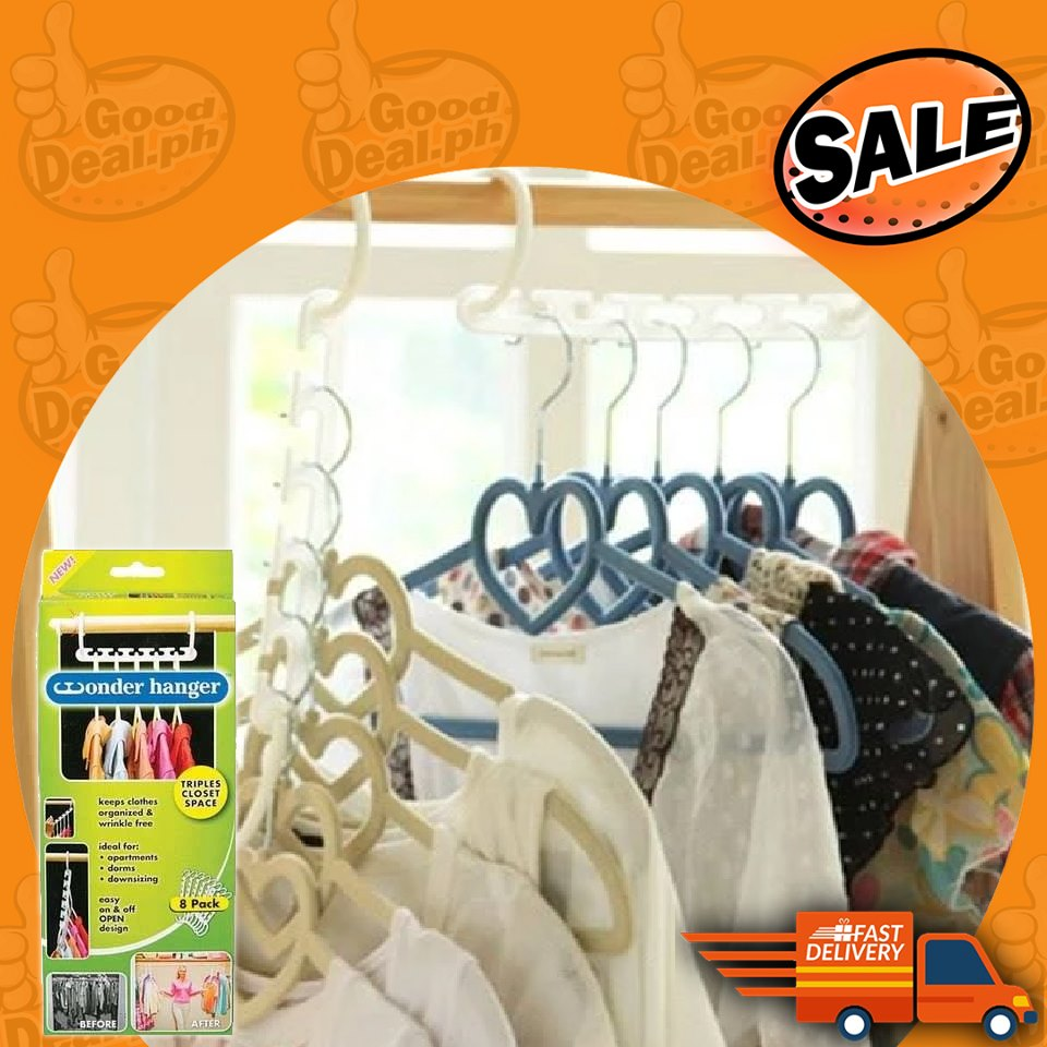 Space Saver Clothes Hangers (3 Pieces)