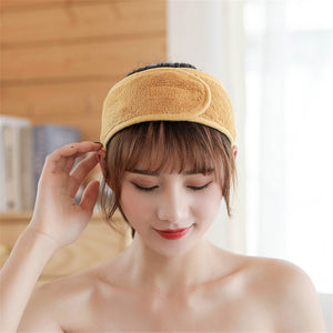 Wash Face Shower Hairband [2-PIECES]