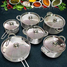 Load image into Gallery viewer, 12 PIECES Cookware Set [FREE SHIPPING + 60% OFF]