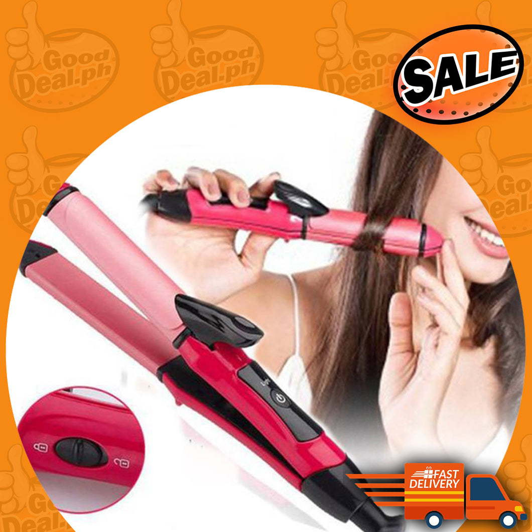 NOVA Essential 2 in 1 Hair Straightener and Curler