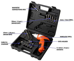 45-IN-1 Cordless Screw Driver