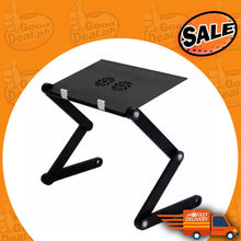Load image into Gallery viewer, Adjustable Foldable Multi-Functional Laptop Table