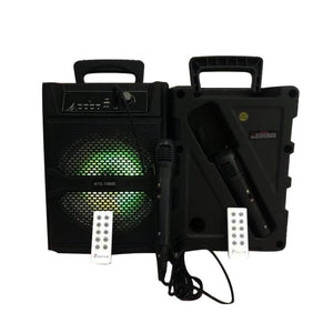 Portable Rechargeable Bluetooth Karaoke w/ FREE! Microphone
