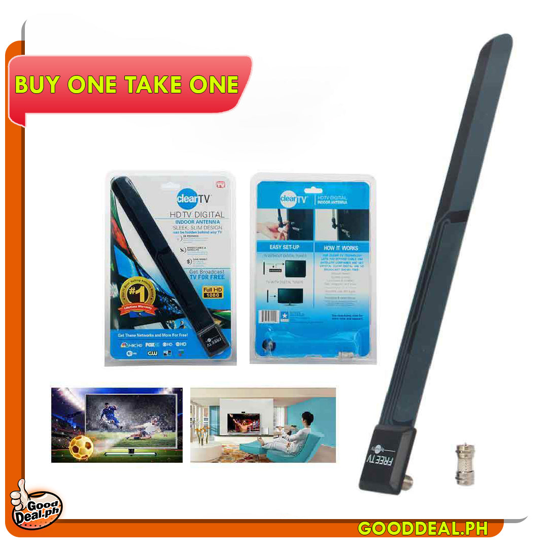 (BUY 1 TAKE 1) DIGITAL HDTV ANTENNA - HD CHANNELS WITHOUT MONTHLY BILL