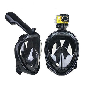 (180° PANORAMIC VIEW) Full Face Snorkel Diving Mask