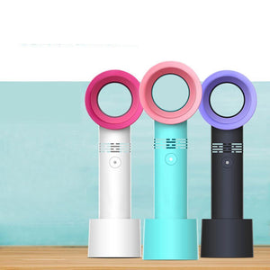 Portable Bladeless Fan (USB Rechargeable)