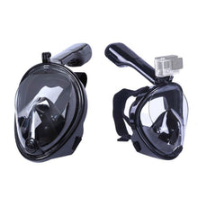 Load image into Gallery viewer, (180° PANORAMIC VIEW) Full Face Snorkel Diving Mask
