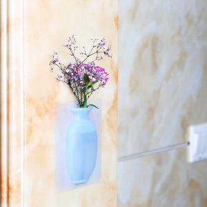 Removable Silicone Wall Vases