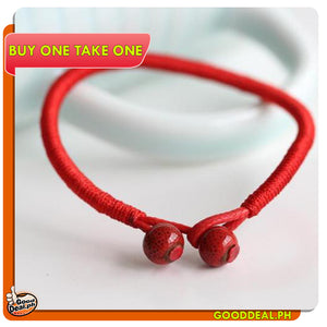 (BUY 1 TAKE 1) Lucky Red FENG SHUI Bracelet