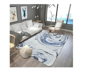 Peachy High Quality Hunger Marbled Carpet Living Room Coffee Table Sofa Bedroom Bedside Blue Pattern Mat Unemploymentrelief Wooden Chair Designs For Living Room Unemploymentrelieforg