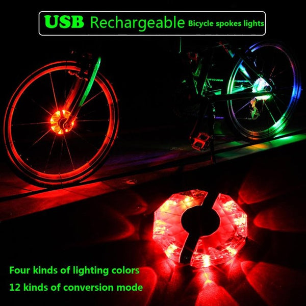 New Youthful Men's USB Rechargeable Bike Light - The Family Camper