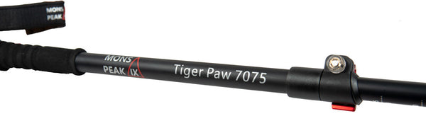 Mons Peak IX Tiger Paw 7075 Trekking Poles - The Family Camper