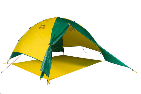 Mons Peak IX Trail 43 2-in-1 Tent, 4P Footprint - The Family Camper