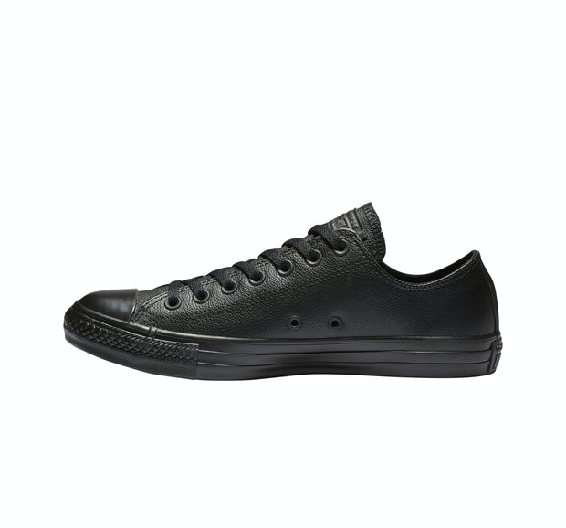 CT LEATHER MONO LOW BLACK