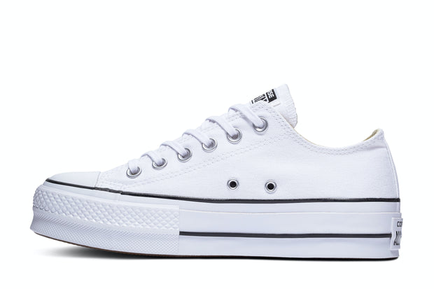 CT LIFT CANVAS LOW WHITE