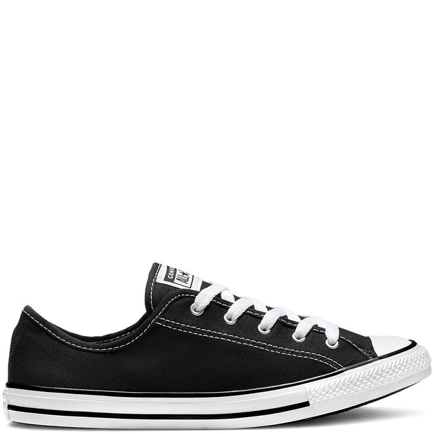 CT DAINTY CANVAS LOW BLACK