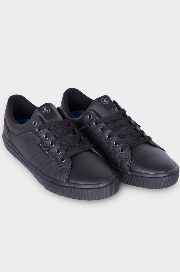 BOYS HIGHLINE CLASSIC BLACK LEATHER