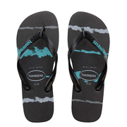 KIDS TROPICAL GLITCH BLACK/BLUE